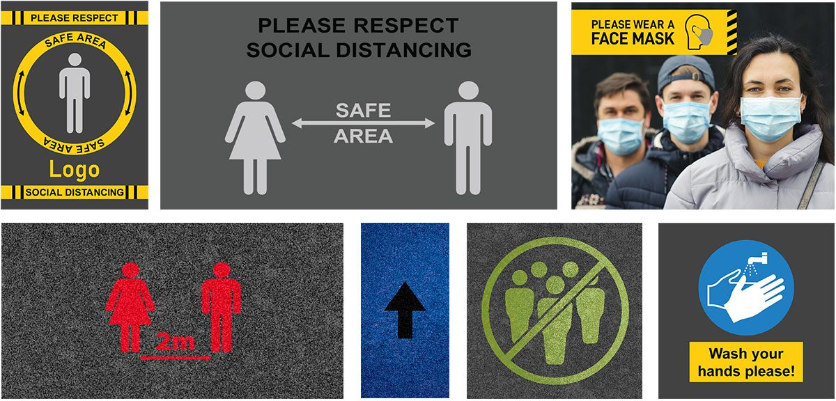Health and Safety Logo Mats