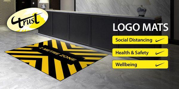Logo Mats Social Distancing